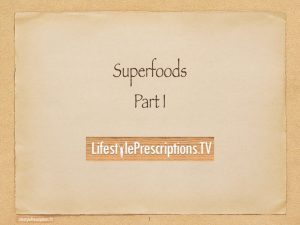 Super Foods Part 1: Gut Health, Minerals and Phytoplankton